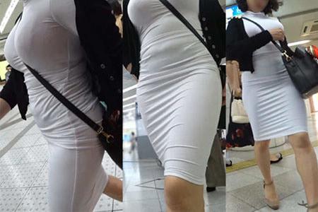 【画像】通勤ラッシュ時にこういう女見てフルボッキしたったwwwww