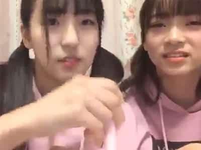【動画あり】AKB48の下尾みうと後藤萌咲が生放送中に「発射しちゃうよ? 何が?」→そして伝説へ・・・