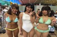 【水着】右のエッチガールと左のスケベ女どっちが好き?(画像)